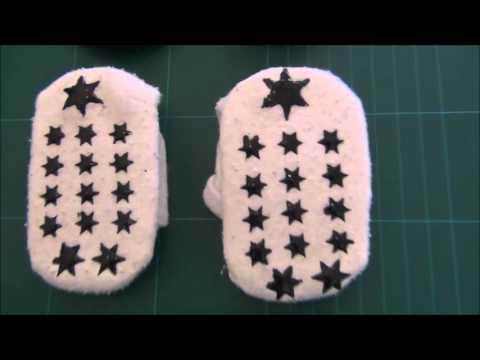 DIY ABS  Socken und Krabbelstrumpfhosen selber machen