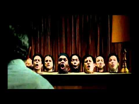 8 HEADS IN A DUFFEL BAG mr sandman scene