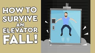 Download lagu Can You Survive An Elevator Fall By Jumping Debunked Mp3