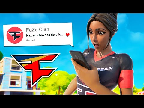 FaZe asked me to post this...
