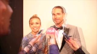 Angelique Boyer y Sebastián Rulli, entrevista para tvynovelas