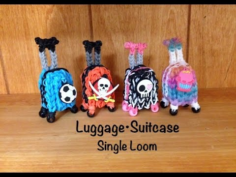Rainbow Loom Luggage Suitcase Bagage – SINGLE Loom