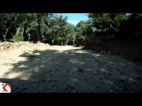 Trams en moto, Girona, Castell de Requesens - Cantallops 01
