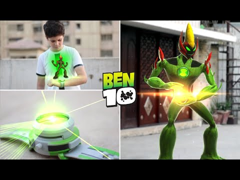 The Transformation Of Ben 10 into Swampfire  in Real Life| Short Episodes