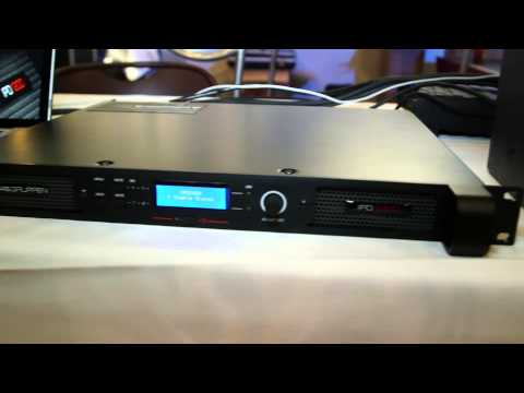 Lab.gruppen IPD Series Power Amps @ Full Compass Tech Expo, Highlights -- May 2013