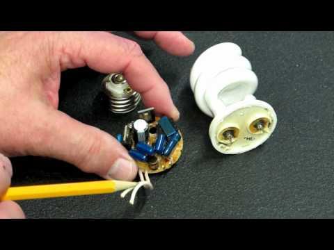 how to repair cfl tube