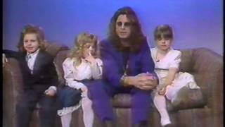 Ozzy&The Kids On The Joan Rivers Show