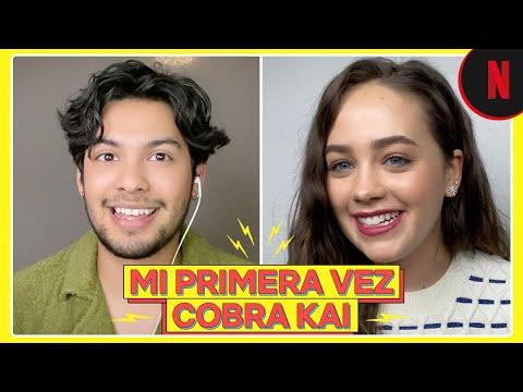 Cobra Kai | La primera vez de Xolo Maridueña y Mary Mouser