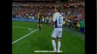 EM 2004: Angelos Charisteas erzielt das einzige Tor im Finale