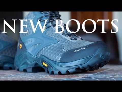 Unboxing my Hi-Tec Flash Fast Boots