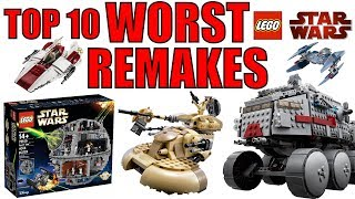 Video Top 10 WORST LEGO Star Wars Remakes! MP3, 3GP, MP4, WEBM, AVI, FLV Juni 2018