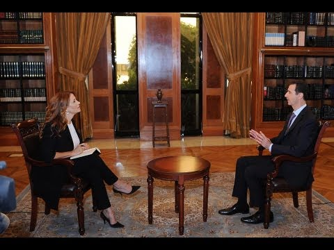 Bashar Assad - President Bashar Al-Assad has granted an exclusive interview to the italian RaiNews24 channel on 29-9-2013, you can read the full script of the interview on ...
