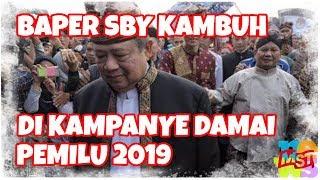 Video Baperan SBY Kambuh di Kampanye Damai Pemilu 2019 MP3, 3GP, MP4, WEBM, AVI, FLV September 2018