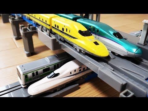 プラレールアドバンス 新幹線 ドクターイエローやH5系はやぶ …