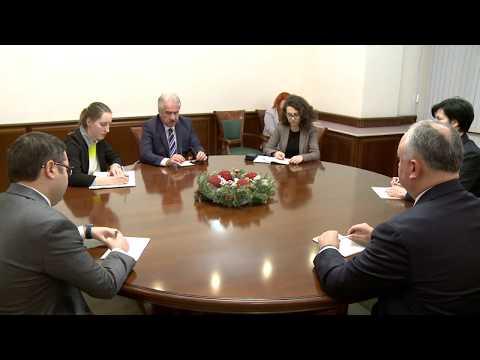 Президент провел встречу с Послом Турции