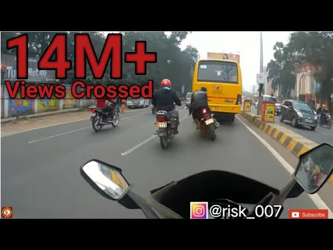 Crazy R15v3 / 220 rider vs KTM rc200