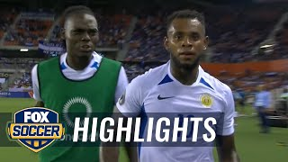 Bacuna scores Curacao's first-ever Gold Cup goal vs. Honduras   2019 CONCACAF Gold Cup Highlights by FOX Soccer