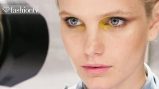 Backstage At New York Fashion Week Spring/summer 2013 With Lela Rose | Nyfw | Fashiontv