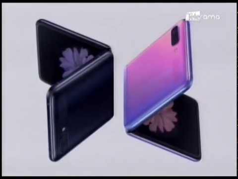 Samsung Galaxy Z Flip 1er Smartphone con pantalla de cristal plegable