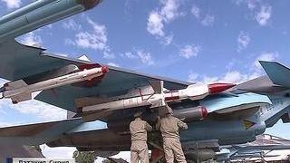 """Су-34 в Сирии будут защищаться от противника ракетами """"воздух-воздух"""""""