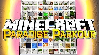 Epic Minecraft Parkour Paradise Map with Bajan Canadian and Nooch! Over 100 Levels of super fun Parkour turns this video into a Movie Length Edition of Parko...