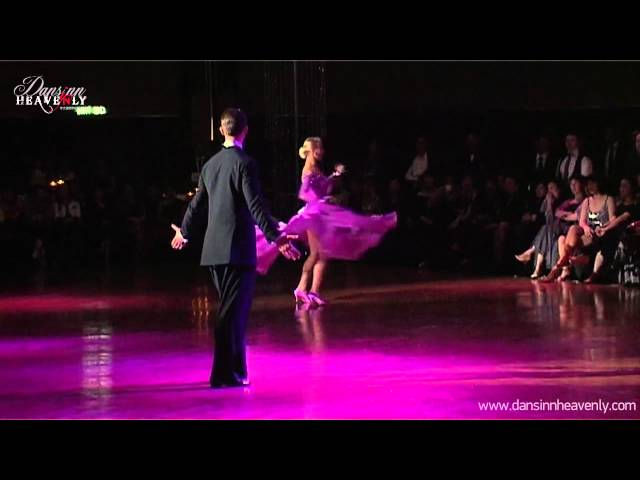 Arunas Bizokas & Katusha Demidova Viennese Waltz 2012 DansinnHeavenly Pro/Am Showcase (Standard International)