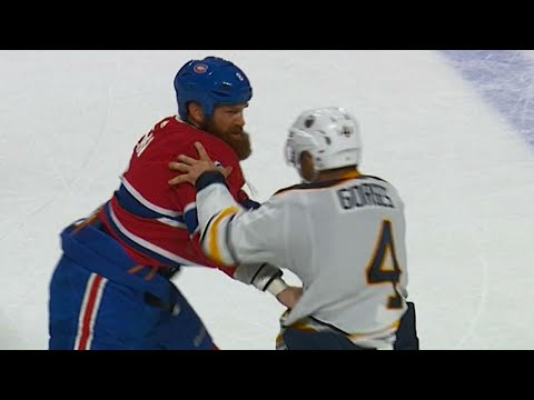 Video: Gotta See It: Canadiens' Benn and Sabres' Gorges both land punches in tilt
