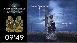 MHWI | Frozen Speartuna GS w/ Frostcraft vs Shara Ishvalda 09'49