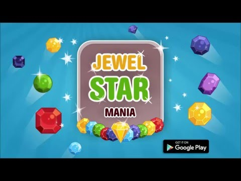JEWEL STAR MANIA  - NEW Match 3 Android Game