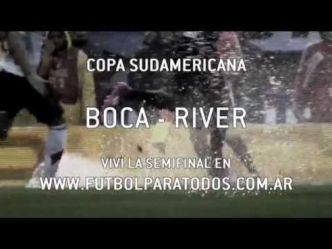 El Superclásico de la Sudamericana vivílo en Fútbol Para Todos