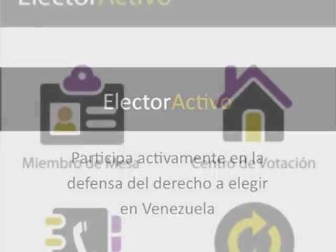 Video of Elector Activo