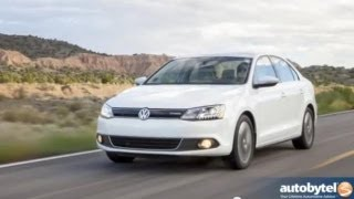 2013 Volkswagen Jetta Hybrid Test Drive&Car Video Review
