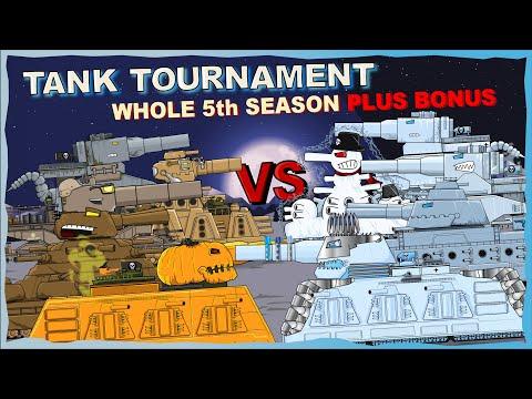 """Tank Tournament whole 5th Season plus Bonus"" Cartoons about tanks"