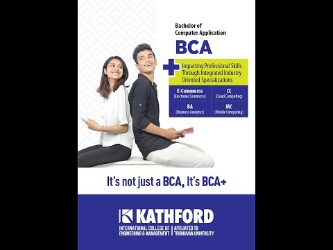 (Kathford International College offers BCA and B.Sc. CSIT affiliated to TU - Duration: 2 minutes, 55 seconds.)