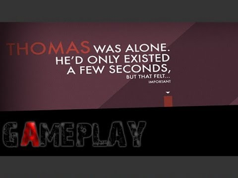 Thomas Was Alone Gameplay (PC/HD)
