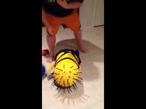 Funny Kid: Homemade Minion Costume
