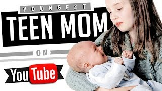 11 Youngest Teen Moms on YouTube