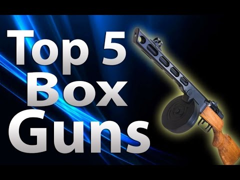'TOP 5' Box Guns/Weapons in 'Call of Duty Zombies' -