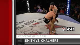 Submission of the Day: Devon Smith Guillotine Chokes Zach Chalmers at Hard Knocks 41 by Fight Network