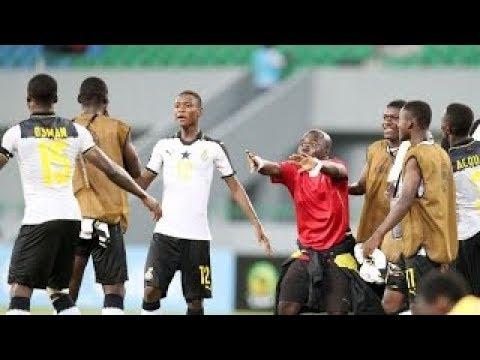 Ghana vs Gabon 5 0 all goals full match 17052017 Africa Cup U17