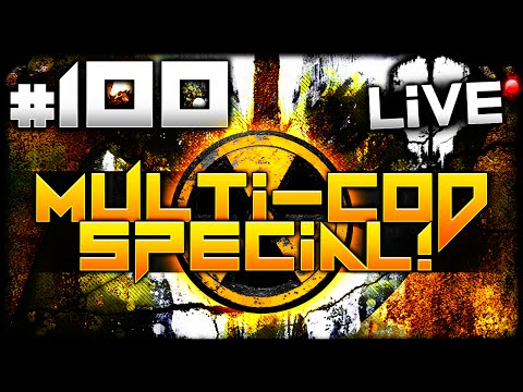 cod - Call of Duty Multiplayer LiVE w/ Elite #100 - Multi-CoD Gameplay! ☆ ALL