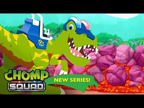 'Lava River' 🌋 Episode 16 | Chomp Squad: A NEW Series!