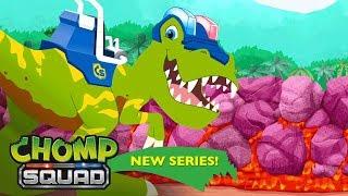 Video 'Lava River' 🌋 Episode 16 | Chomp Squad: A NEW Series! MP3, 3GP, MP4, WEBM, AVI, FLV Februari 2019