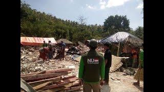Bantuan Warga NU untuk Lombok Terus Mengalir