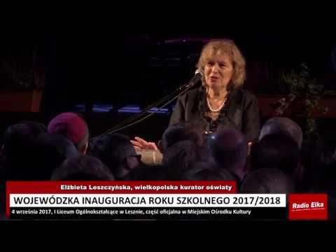 Wideo1: Żeby pobyt w szkole był ciekawą przygodą - Elżbieta Leszczyńska, wielkopolska kurator oświaty