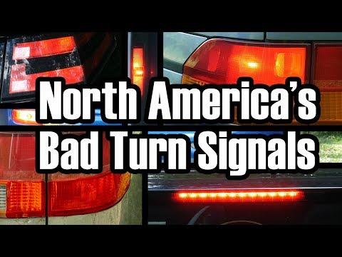 The Senseless Ambiguity of North American Turn Signals