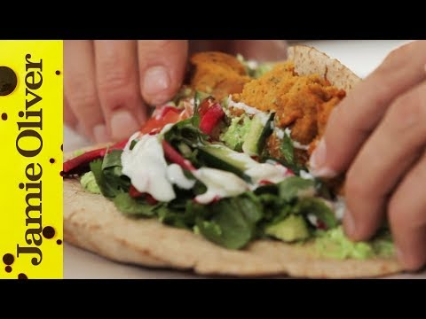 hummus - BOOM! Aaron's back with another great street food recipe - falafel. This is a classic vegetarian recipe with a twist: instead of chickpeas he uses sweet pota...