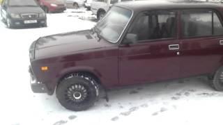 видео авто ВАЗ 2107 ЗНГ в кредит