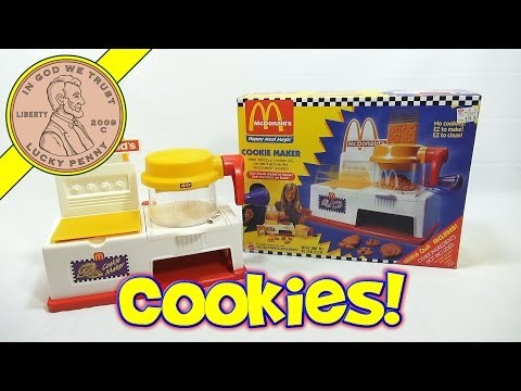 McDonald's Happy Meal Magic Cookie Maker Set, 1993 Mattel Toys (Fun Recipes)