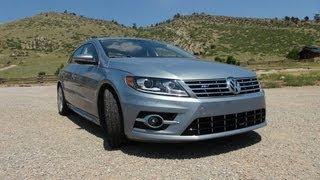 2013 Volkswagen CC R-Line 0-60 MPH Drive&Review